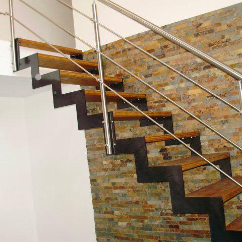 garde-corps et escaliers intérieur