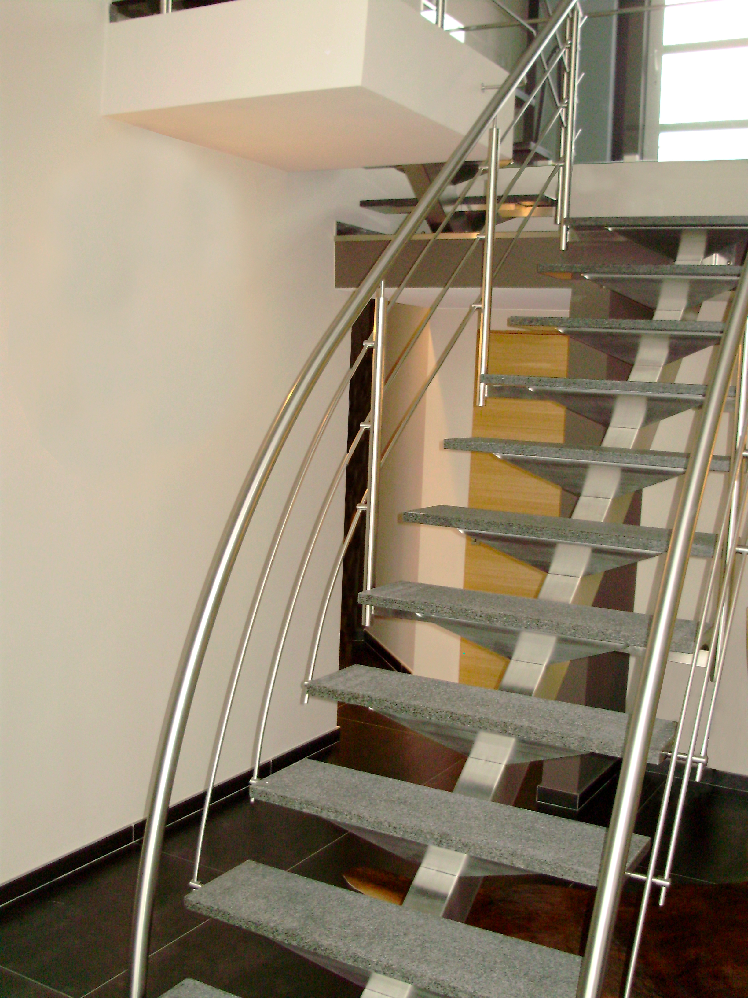 Barriere Escalier En Colimaçon inox concept
